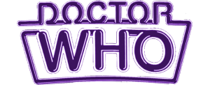 Colin Baker logo (mutated version of the logo used on many Target books)