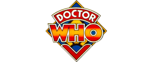 Tom Baker logo (coloured version used on BBC merchandise)