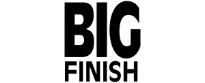 Big Finish logo (black)
