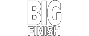 Big Finish logo (white)